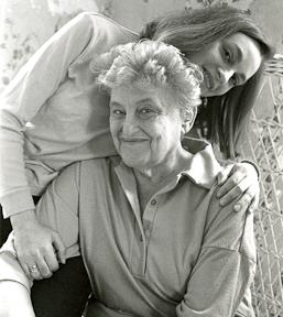 Mom and Me circa 1992